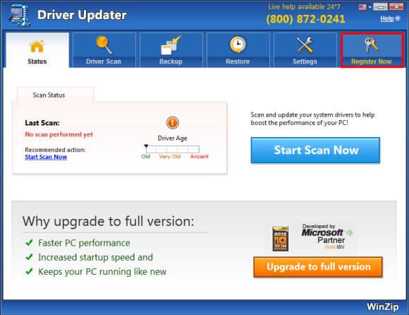 driver updater pro tweak registration key