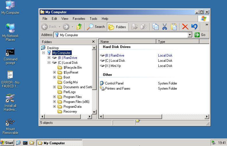 falconfour ultimate boot cd vs hirens